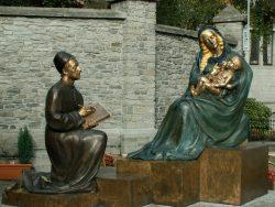 Saint Luc dessinant la Vierge – Tournai