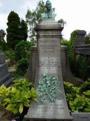 Monument au Docteur Hubert Clerx – Cimetière du Dieweg – Uccle