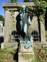 Monument funéraire – famille A. Verbockhaven-Silberstein – cimetière du Dieweg – Uccle