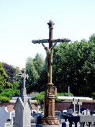 Christ en croix – Cimetière – Wolvertem