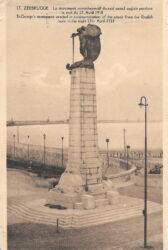 Monument commémoratif du raid naval sur Zeebruges en 1918 – (détruit)