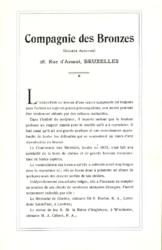 Compagnie des Bronzes_Bronzes Monumentaux_v1914_Pages de présentation