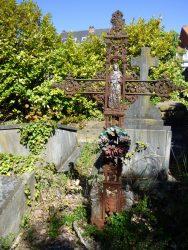 Croix funéraire – cimetière – Uccle (2)