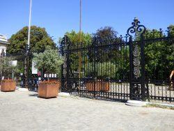 Grilles – cimetière de Bruxelles – Evere
