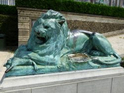 Un Lion dévorant un Chevreau – Jardin botanique – Saint-Josse-ten-Noode