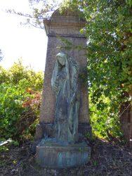 Pleureuse – Monument funéraire famille Curt Muser– cimetière du Dieweg – Uccle